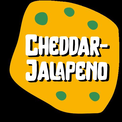 Nakki-Hannun raakamakkaratuote Cheddar-jalapenon kuvituskuva