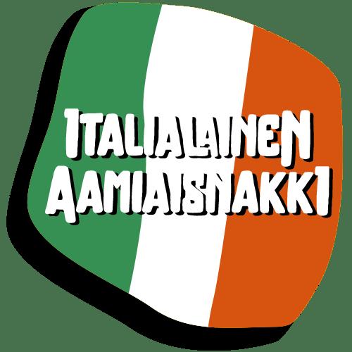 Nakki-Hannun raakamakkaratuote Italialainen aamiaisnakin kuvituskuva