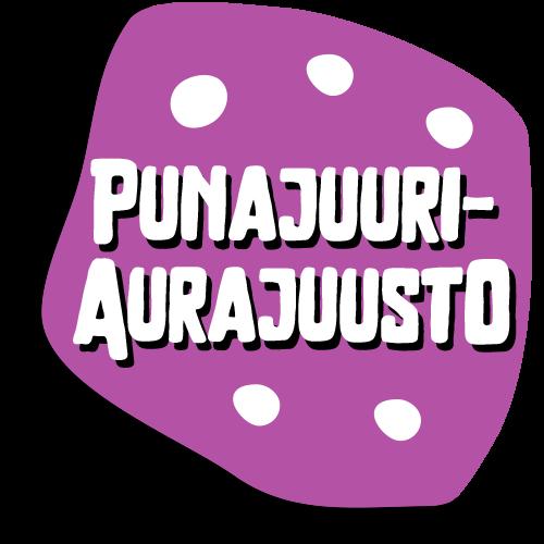 Nakki-Hannun raakamakkaratuote Punajuuri-aurajuuston kuvituskuva